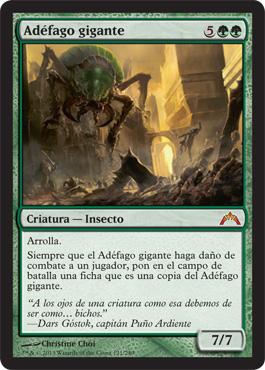 giant adephage magic