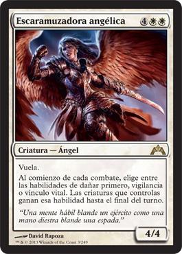 angelic skirmisher magic