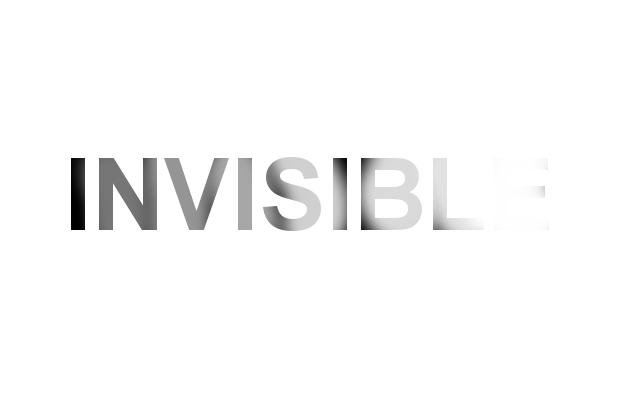 caligrama invisible