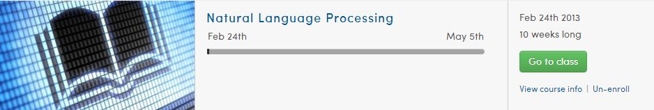 natural language processing nlp coursera