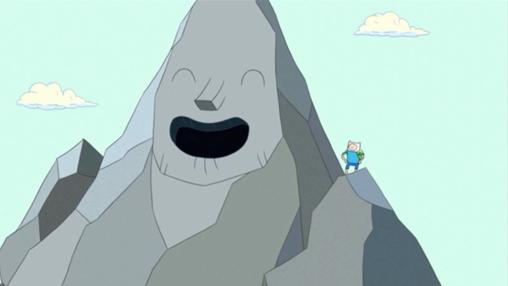 montaña Hora de Aventura